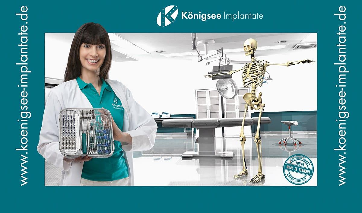 Werbefotografie Medizin 3D Rendering Produktvisualisierung