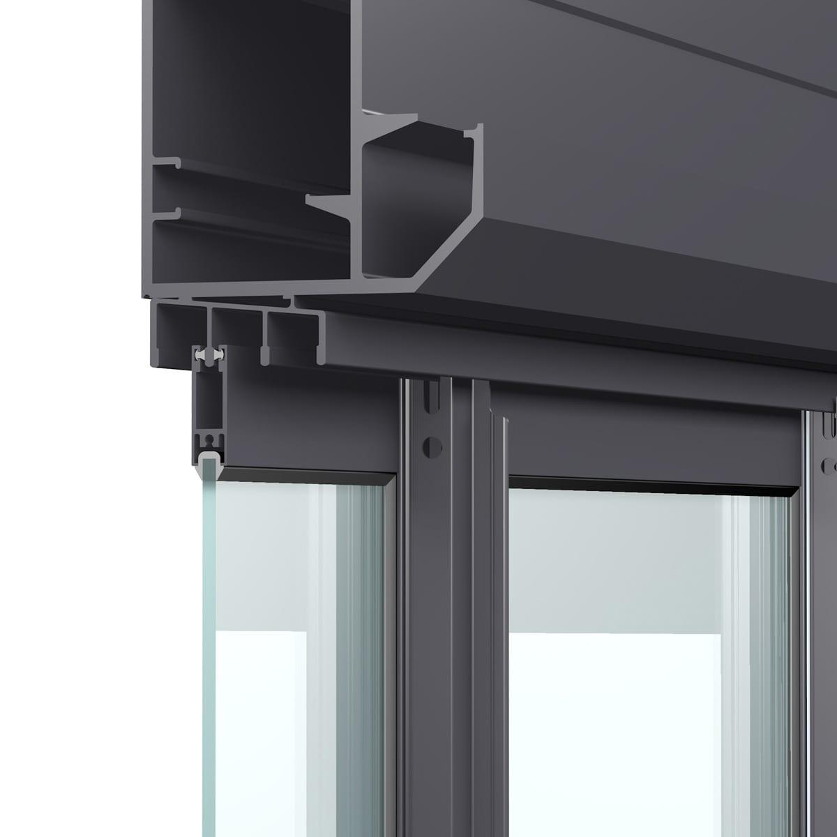3D Rendering Produktvisualisierung Fenster Profil Produktfotografie
