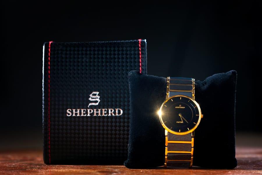 produktfotografie uhr Armbanduhr