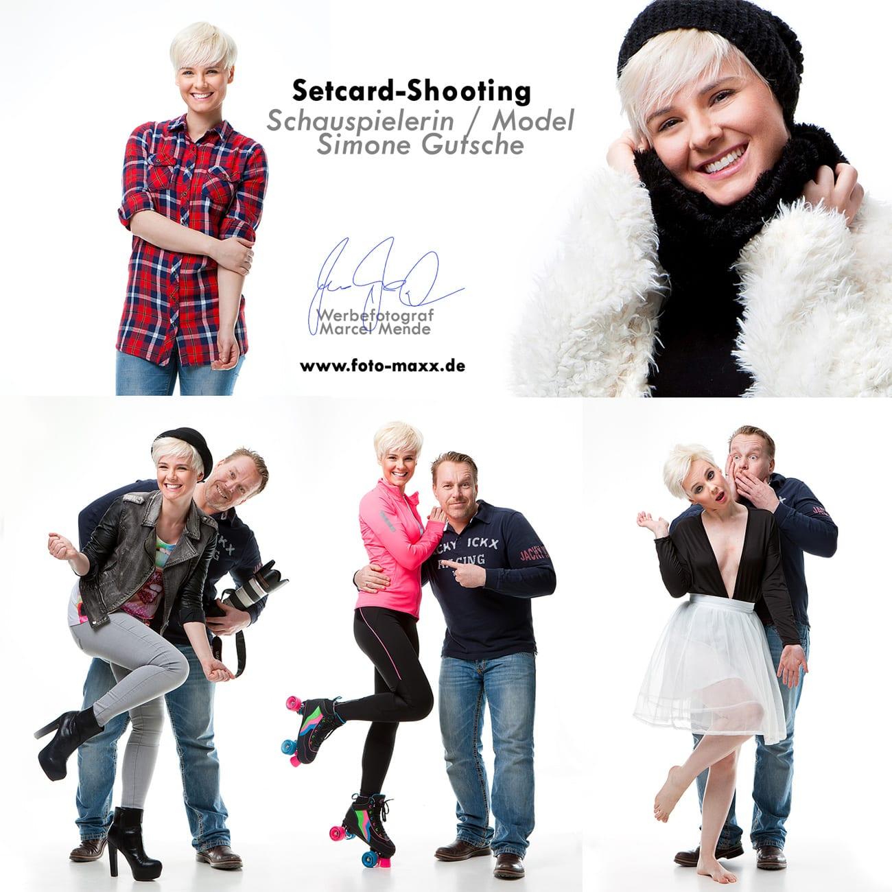 Setcardshooting Schauspieler und Model