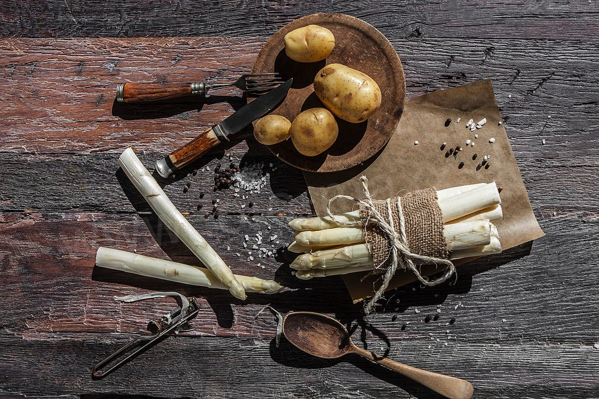 Foodfoto Spargel Foodfotografie Spargel