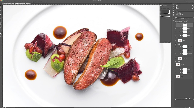 foodfotos foodfotografie gourmet restaurant kaisersaal postproduktion
