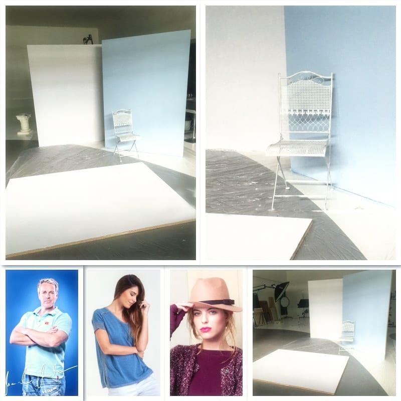 Fashionfotos - Vorbereitungen für das nächste Fascionshooting der Sommerkollektion
