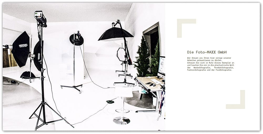 Werbebuch Produktfotografie
