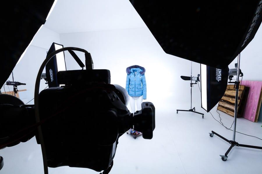 Produktfotografie winterjacken