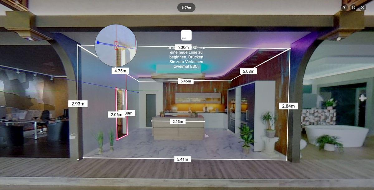 360 Grad Rundgänge erleben Fotograf 3D Rundgänge Immobilienfotografie