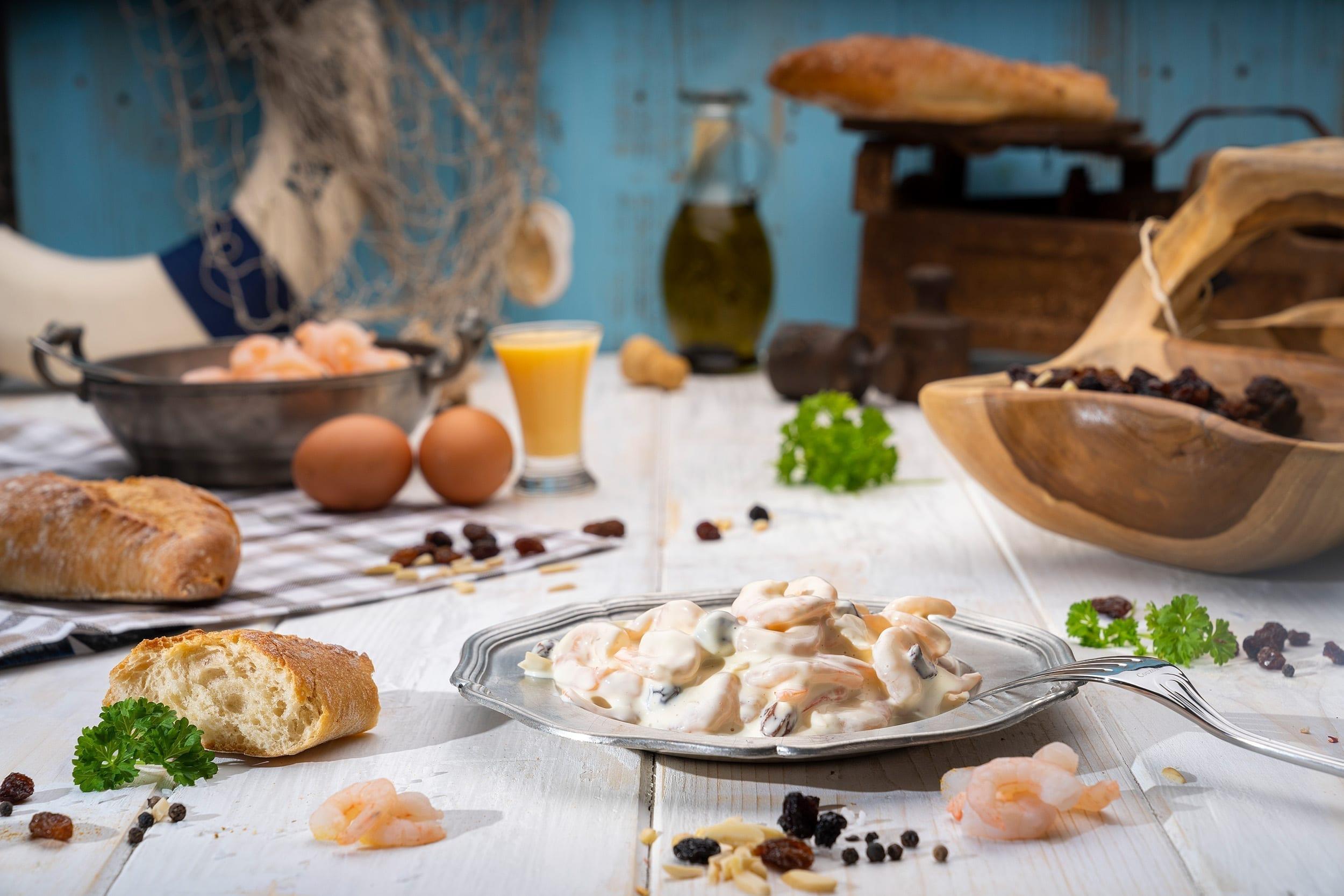 Produktfotograf Foodfotograf Fisch Marcel Mende Salate garnelen Foodfotografie Fischfotograf Produktfotografie